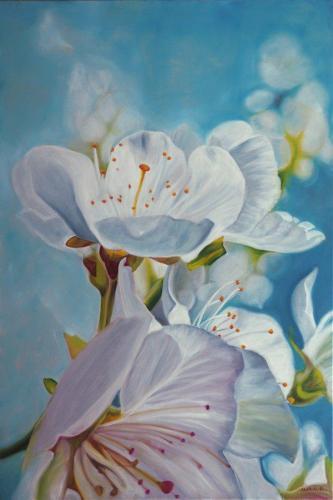 """""""Fleurs de pommier II"""""""