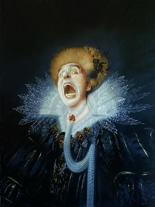 Autoportrait d'après Merevelt