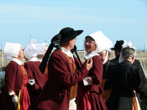 Dance bretonne à Saint-Quay-Portrieux
